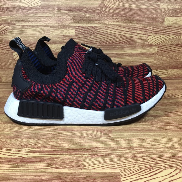 c5d3cc09cfd 🚨SALE🚨 Adidas NMD R1 STLT PK Mens Black Red